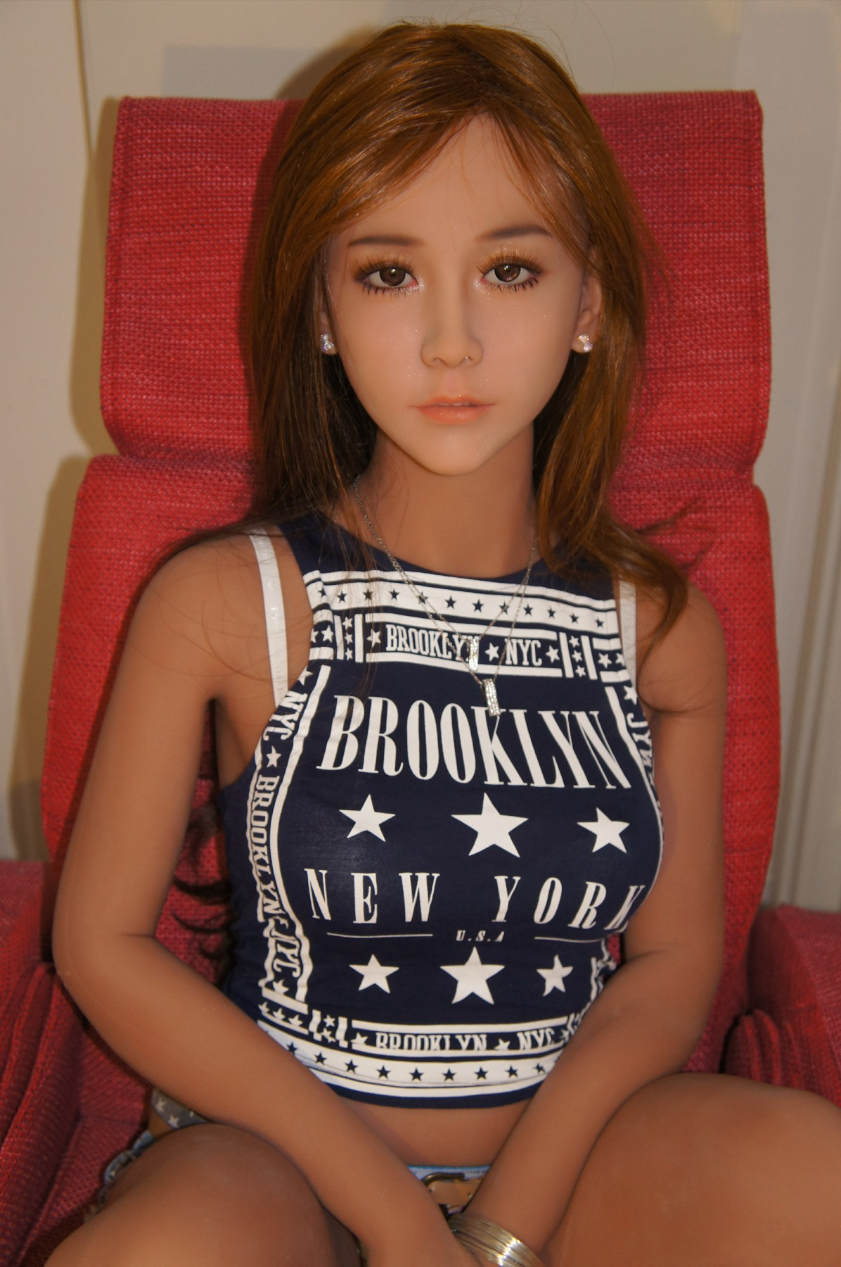 Sarah-158CM - Buy silicon sex doll, young silicone sex